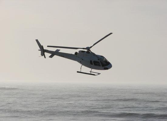 Hélicoptère Airbus Écureuil AS 350