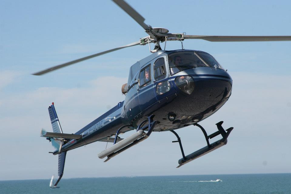 Hélicoptère Airbus AS350 Ecureuil